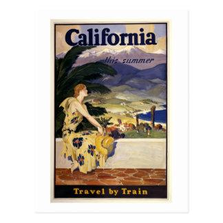La Californie cet été. Voyage par chemin de fer Cartes Postales