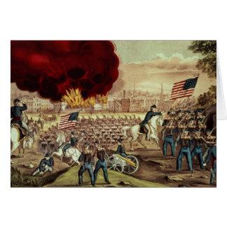 La capture d'Atlanta par l'armée des syndicats Carte De Vœux