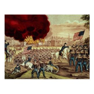 La capture d'Atlanta par l'armée des syndicats Cartes Postales