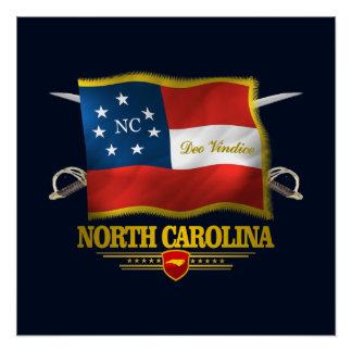 La Caroline du Nord - Deo Vindice Perfect Poster