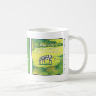 La Cebra, taza de café Coffee Mug