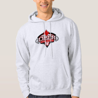 La cendre à capuchon de base du sweatshirt des