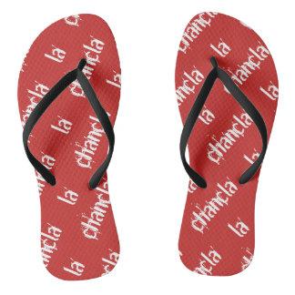 la chancla flip flops