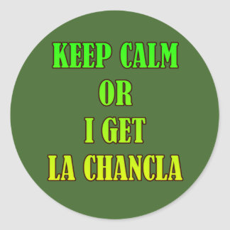 La Chancla HHM Stickers
