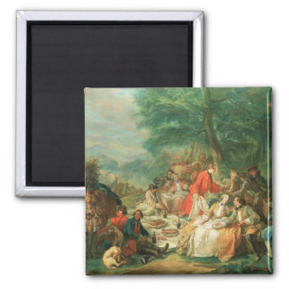 La Chasse, 18th century Magnet