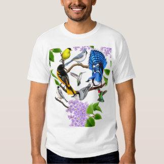 La chemise d'amants d'oiseau de jardin t shirt