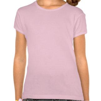 La chemise de la fille rose de panda t-shirts