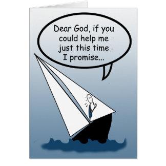 La chère navigation de Dieu bascule la carte de