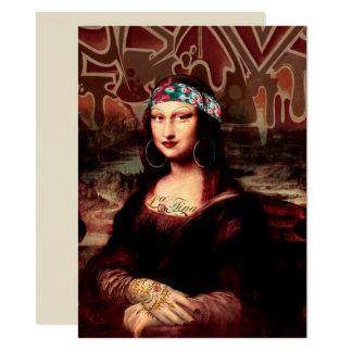 La Chola Mona Lisa Card