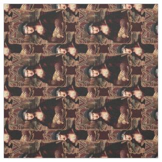 La Chola Mona Lisa Fabric