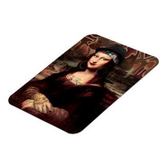 La Chola Mona Lisa Magnet