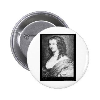 La citation d'amour d'Aphra Behn pique les cadeaux Macaron Rond 5 Cm