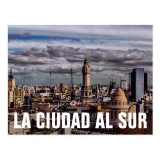 La Ciudad Al Sur - The City South Postcard