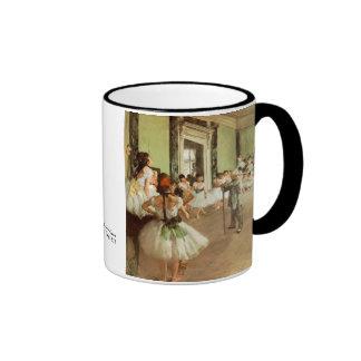 La Classe de Danse by Edgar Degas Ringer Coffee Mug