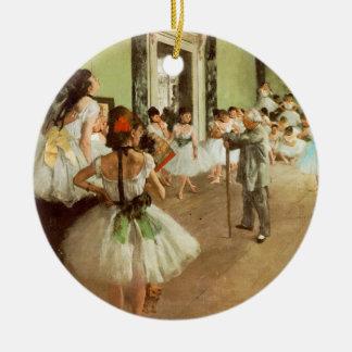 La Classe de Danse Ceramic Ornament