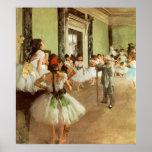 La Classe de Danse par Edgar Degas Poster