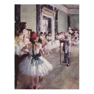 La classe de danse (The Dancing class) Postcard