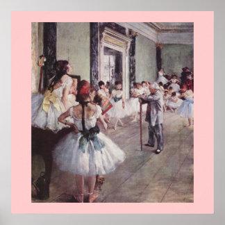 La classe de danse (The Dancing class) Poster