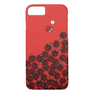 La Coccinelle - a crowded place Case-Mate iPhone Case