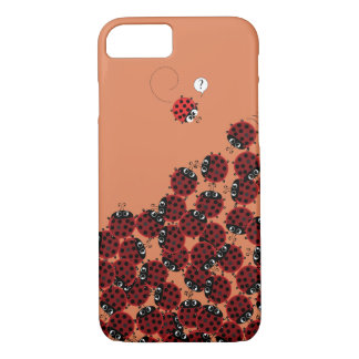 La Coccinelle - a crowded place in coral? Case-Mate iPhone Case
