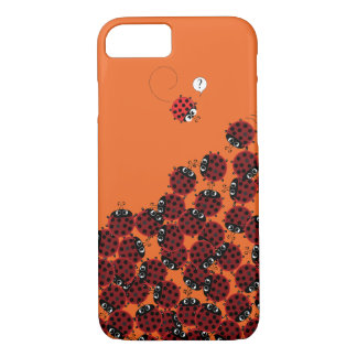 La Coccinelle - a crowded place in orange? iPhone 8/7 Case