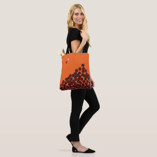La Coccinelle - a crowded place in orange? Tote Bag