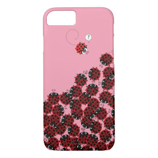 La Coccinelle - a crowded place in pink? iPhone 8/7 Case