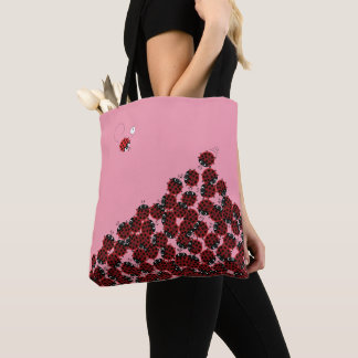 La Coccinelle - a crowded place in pink? Tote Bag