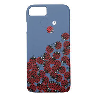 La Coccinelle - a crowded place in sky blue? iPhone 8/7 Case