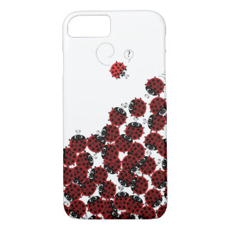 La Coccinelle - a crowded place in white? Case-Mate iPhone Case