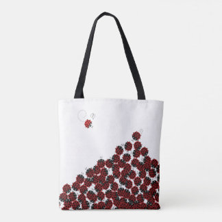 La Coccinelle - a crowded place in white? Tote Bag