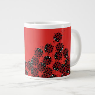 La Coccinelle - a crowded place Large Coffee Mug