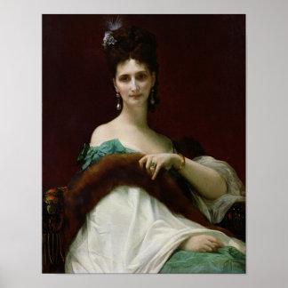 La Comtesse de Keller, 1873 Poster