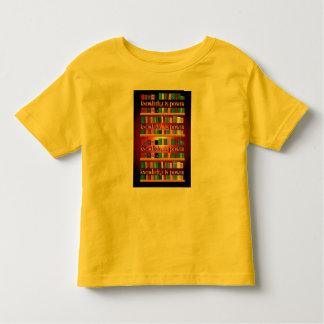 La connaissance est puissance Bookscase T-shirt Pour Les Tous Petits