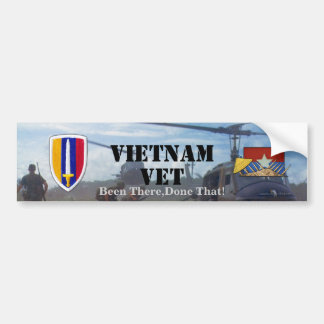 La correction de guerre d'USARV Vietnam Nam contrô Autocollant De Voiture
