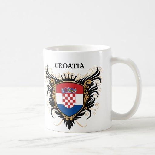 La Croatie [personnalisez] Tasse