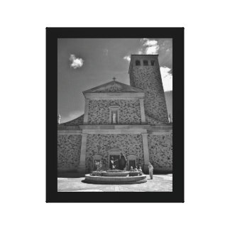 La Crosse Church Canvas Print