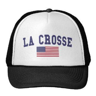 La Crosse US Flag Trucker Hat