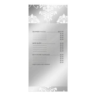 La damassé blanche de PixDezines, spa entretient Carte Publicitaire
