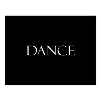 La danse cite la citation inspirée de danse cartes postales