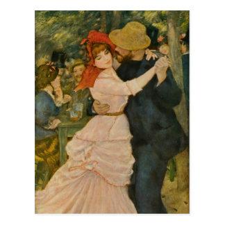 La danse de Pierre-Auguste Renoir chez Bougival Cartes Postales