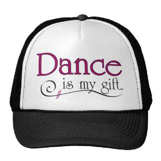 La danse est mon cadeau casquette de camionneur