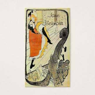 La Danseuse Business Card