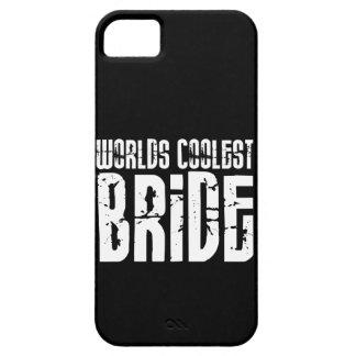 La de mariée de jeune de La plus fraîche de mariag Coque iPhone 5 Case-Mate