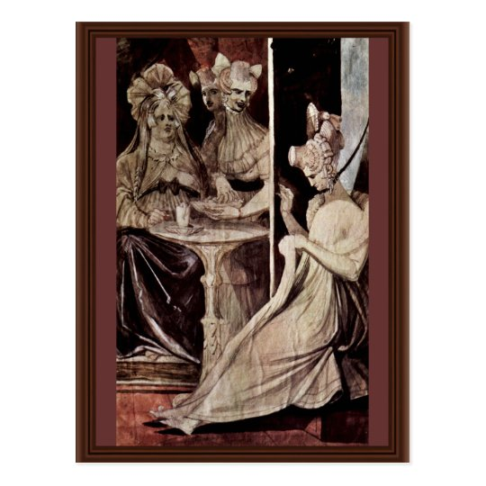 La Débutante By Johann Heinrich Füssli (Best Quali Postcard