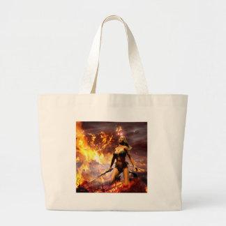 la déesse du feu sac en toile jumbo