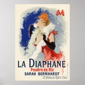 La Diaphane, Jules Chéret Poster