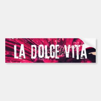 La Dolce Vita Gerbera Daisy Bumper Sticker