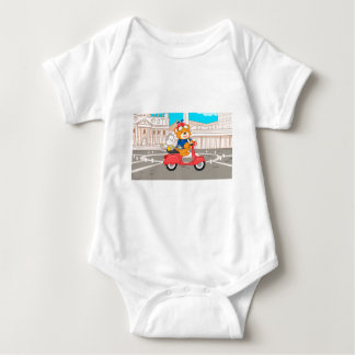 La Dolce Vita Romana - Nano Bear & Junior Monkey Baby Bodysuit