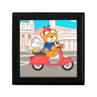 La Dolce Vita Romana - Nano Bear & Junior Monkey Keepsake Boxes
